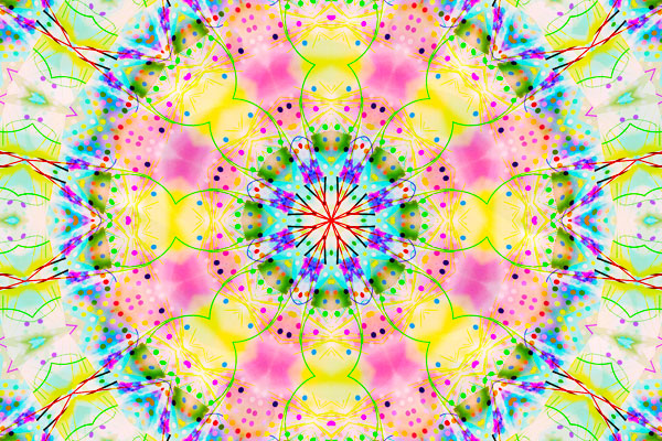 screenshot of the Kaleidoscope app